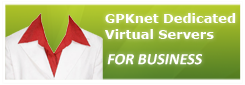 GPKnet Dedicated Virtual Servers for Business