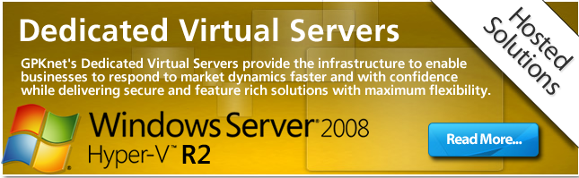 Learn how GPKnet Dedicated Virtual Servers can assist your business today.